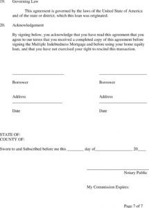 free home equity line of credit loan agreement and promissory home equity loan agreement template example