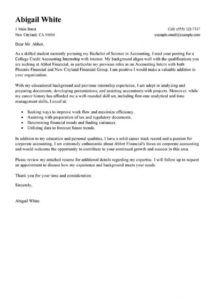 free leading professional training internship college credits college cover letter template