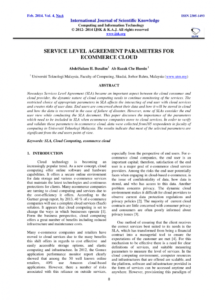 free pdf service level agreement parameters for ecommerce cloud cloud service level agreement template example