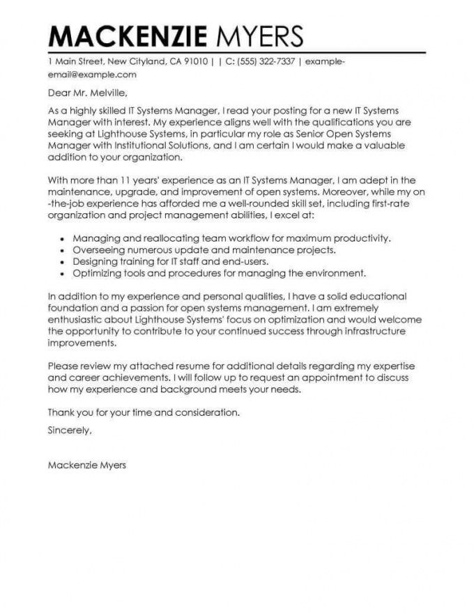 free professional information technology cover letter examples it professional cover letter template sample