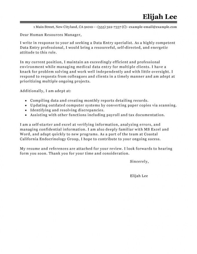 leading professional data entry cover letter examples government job cover letter template doc