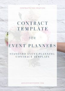 printable event planner contract template  contract for creatives party planning contract template doc
