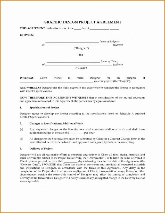 printable graphic design contract tips and templates to use freelance designer contract template word
