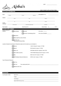 printable hair salon forms  fill online printable fillable blank beauty salon contract of employment template pdf