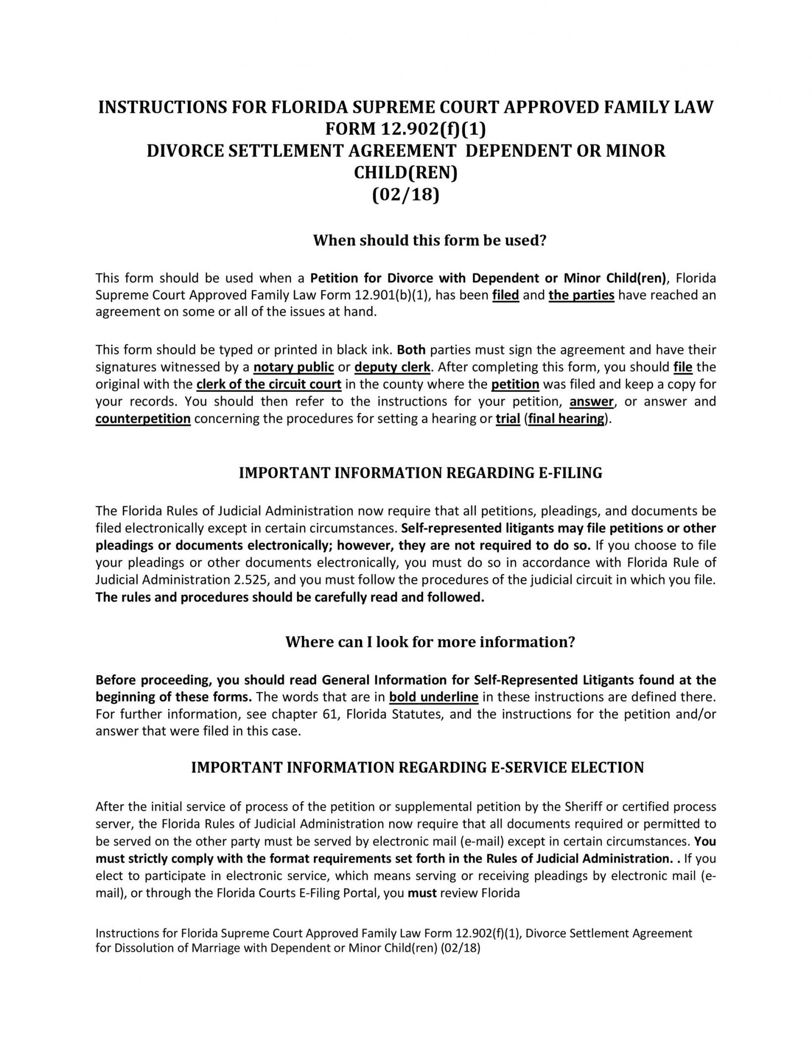sample 42 divorce settlement agreement templates 100% free marriage dissolution agreement template example