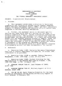 sample fema us armydod memorandums of understanding  public dod memorandum of agreement template pdf