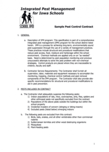 editable pest control proposal pdf  fill online printable fillable pest control contract proposal template excel