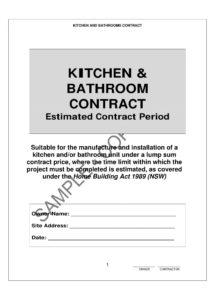 free 10 bathroom renovation contract template examples  pdf kitchen renovation contract template doc