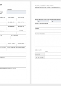 free free workplace accident report templates  smartsheet accident reporting policy template example