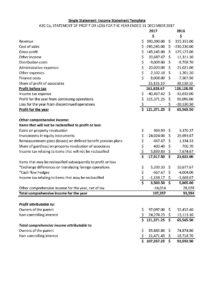 income statement definition types templates examples and accounting income statement template word