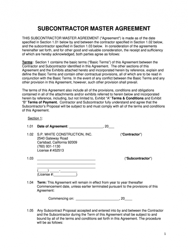 master short form  fill out and sign printable pdf template  signnow short form construction contract template sample