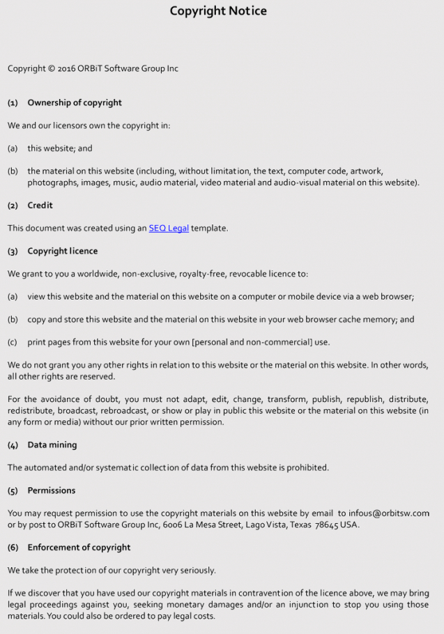 printable writing a copyright notice guidelines and examples photography copyright statement template example