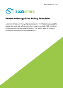 revenue policy  saasoptics revenue recognition policy template word