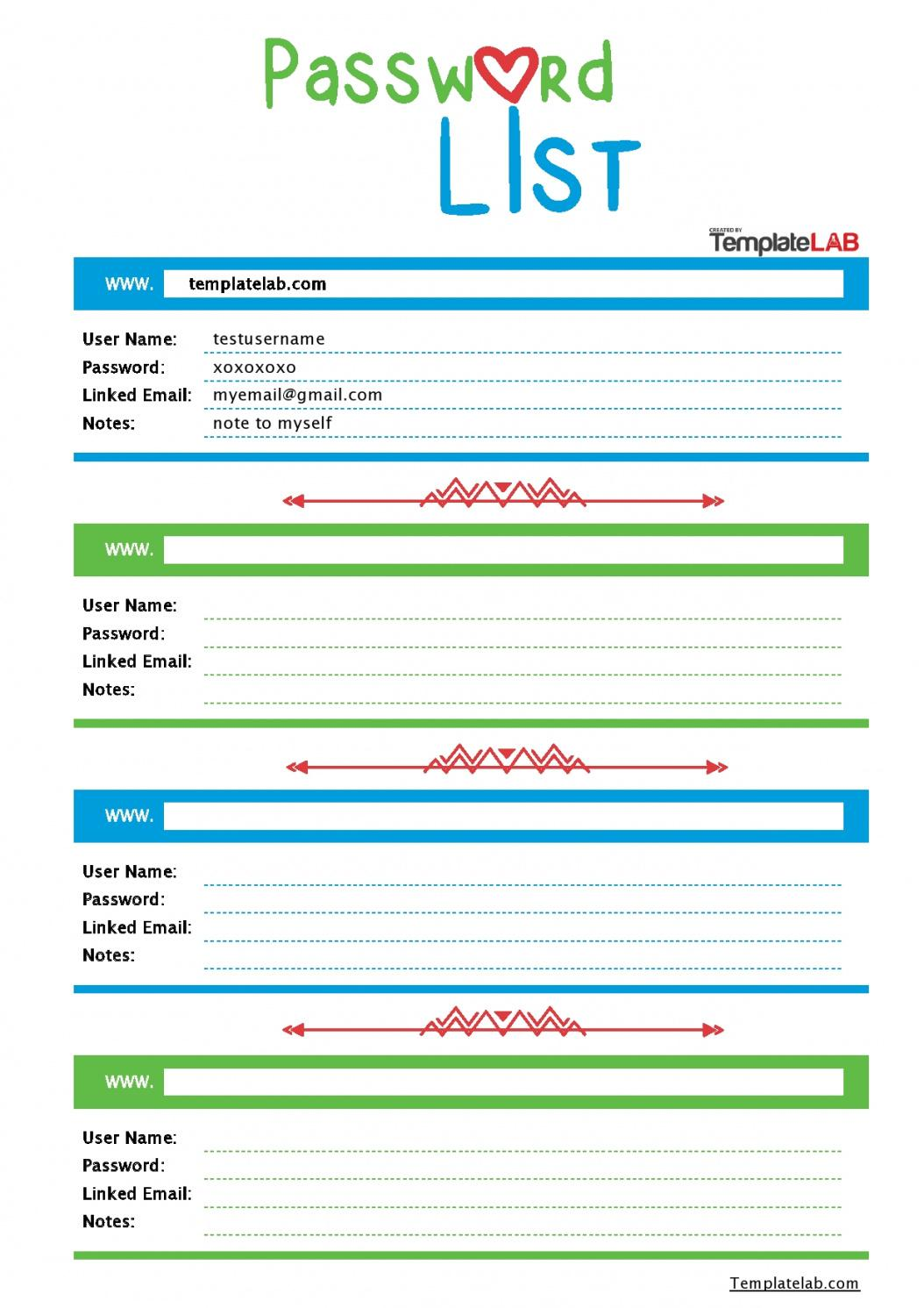 33 best password list templates word excel & pdf password management policy template word
