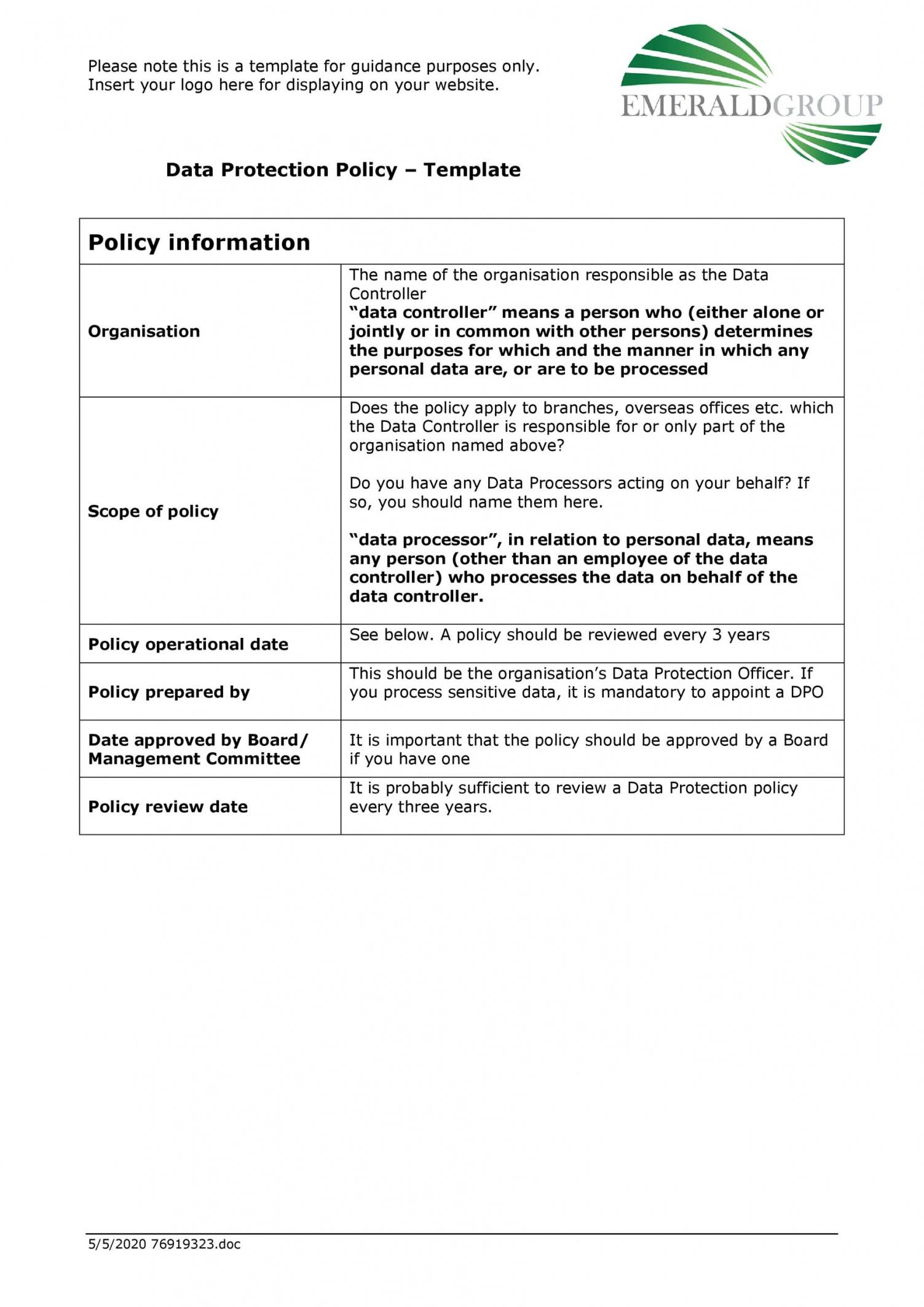 42 information security policy templates cyber security employee security policy template word