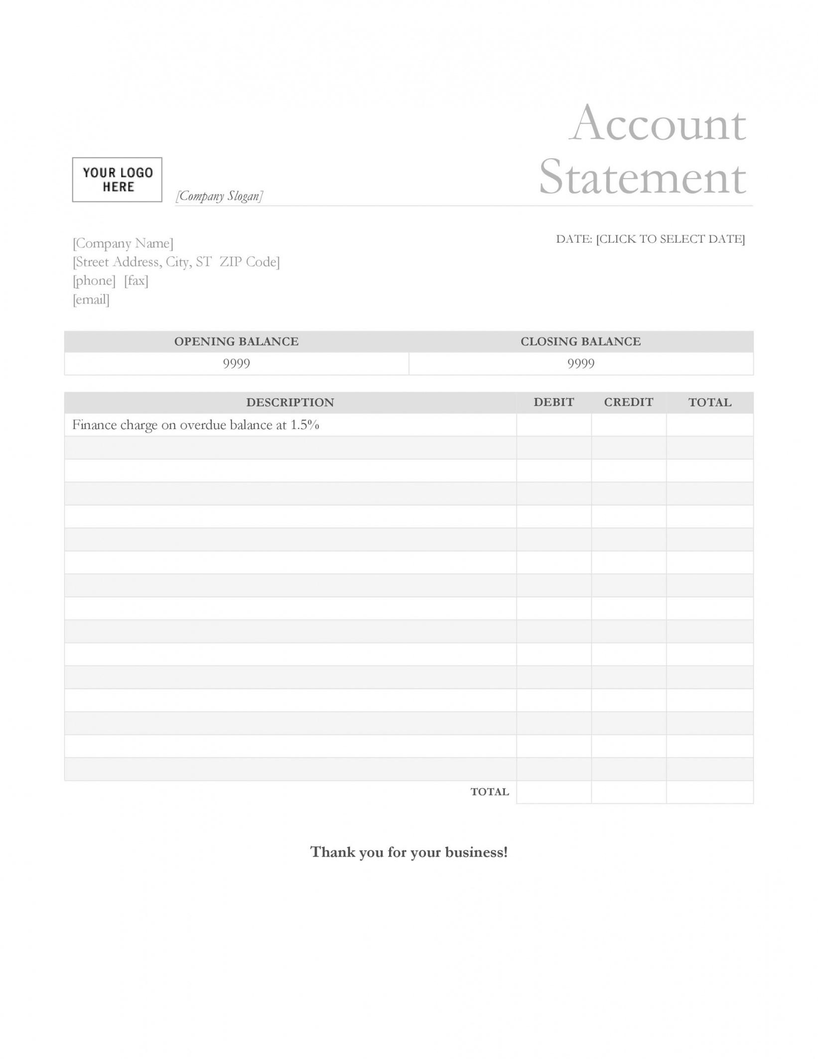 free 23 editable bank statement templates free  templatelab checking account statement template excel