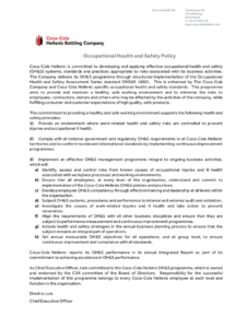 free free 21 health and safety policy examples in pdf  google construction safety policy template example