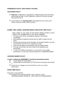 free free printable cell phone policy form generic corporate cell phone policy template word