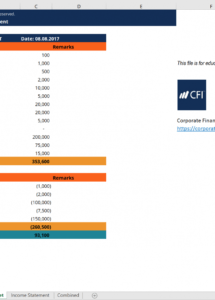 personal financial statement excel template get free ~ golagoon investment statement template word