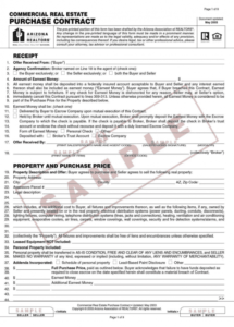 printable arizona commercial real estate purchase contract pdf  fill out and sign  printable pdf template  signnow commercial real estate contract template pdf