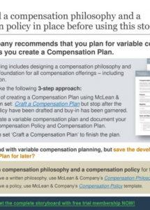 printable create a variable compensation plan  ppt download compensation policy template doc