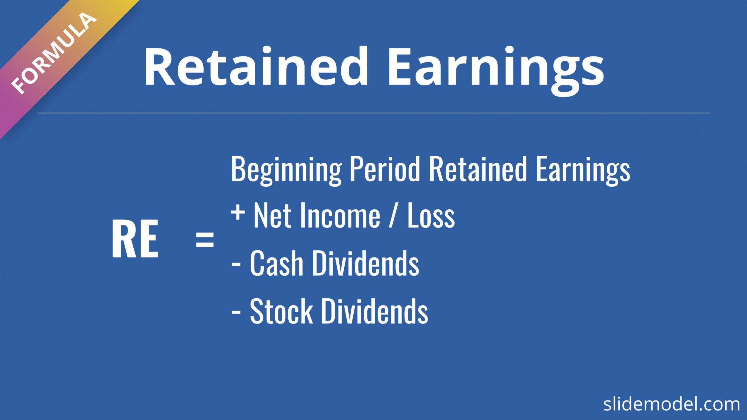 printable how to create a statement of retained earnings for a retained earnings statement template