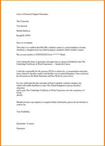 printable sample support letter for refugee missionary support letter template pdf