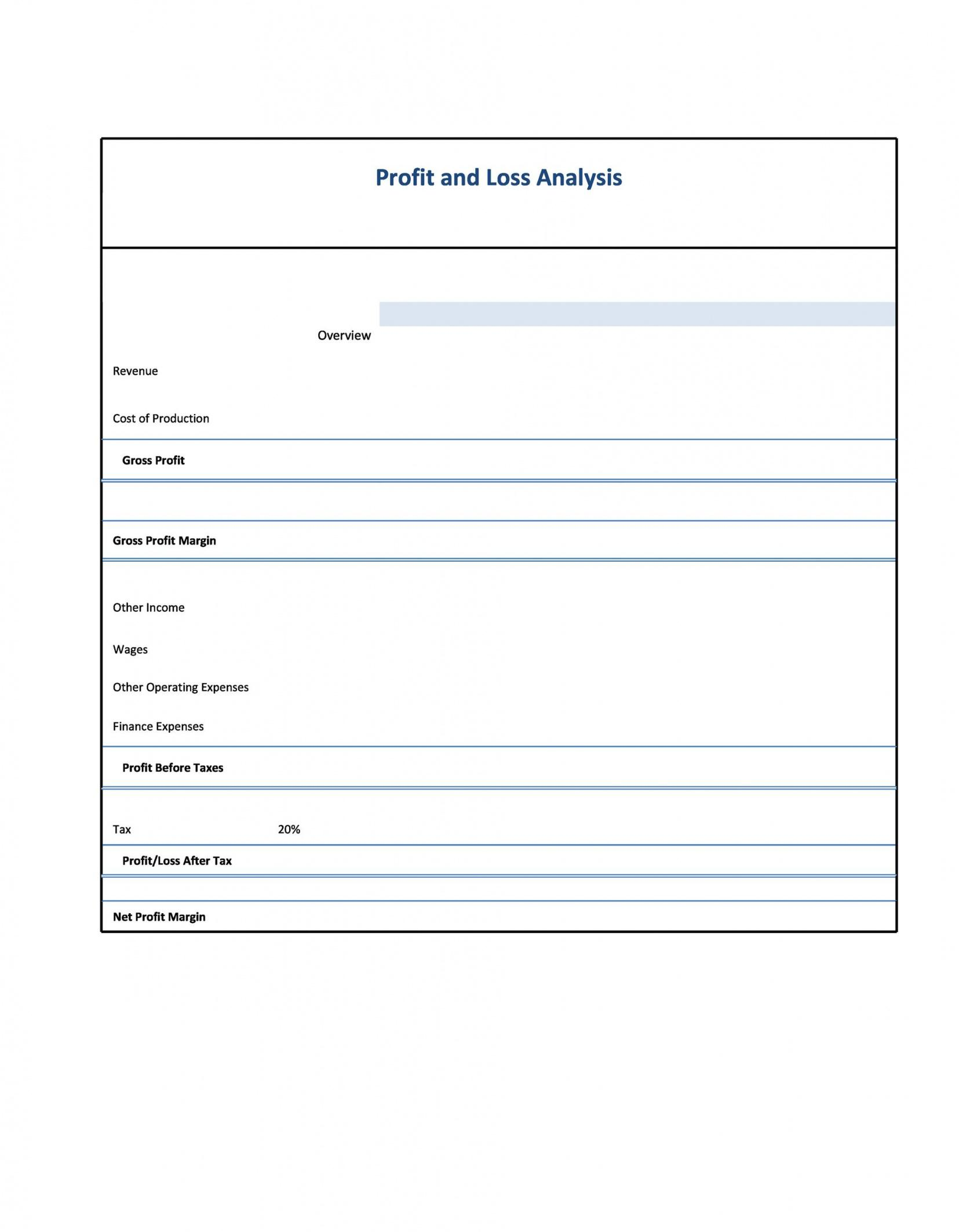 sample 35 profit and loss statement templates & forms simple profit loss statement template excel