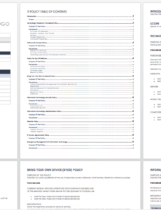 sample free policy and procedure templates  smartsheet password management policy template word
