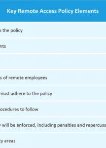 sample how to create a remote work policy  smartsheet working remotely policy template word