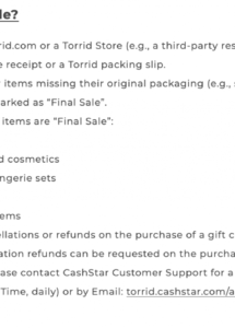 sample how to write a no refund policy for your business samples standard return policy template