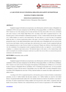 sample pdf a case study on occupational health and safety of safety shoe policy template doc