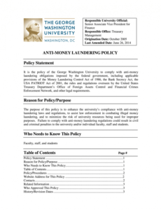 aml form  fill out and sign printable pdf template  signnow anti money laundering policy template