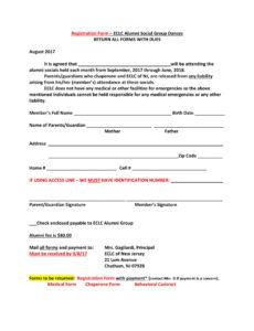 editable free 12 dance registration forms in pdf pdf  ms word  excel dance team contract template pdf