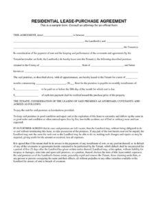 editable lease to own contract template ~ addictionary car lease to own contract template