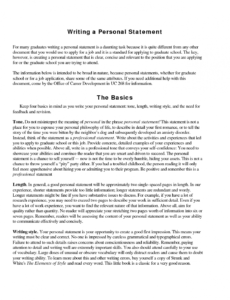 free 015 essay example personal statement sample ~ thatsnotus personal statement template for job application pdf