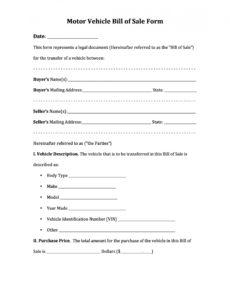 free 42 printable vehicle purchase agreement templates  templatelab vehicle payment contract template doc