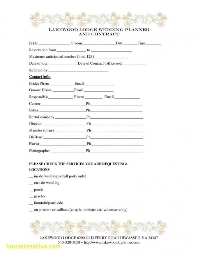 free template  wedding decoration contract template with wedding coordinator contract template doc