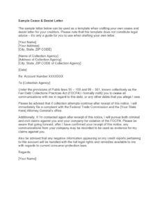 printable 30 free cease and desist letter templates  templatearchive general cease and desist letter template