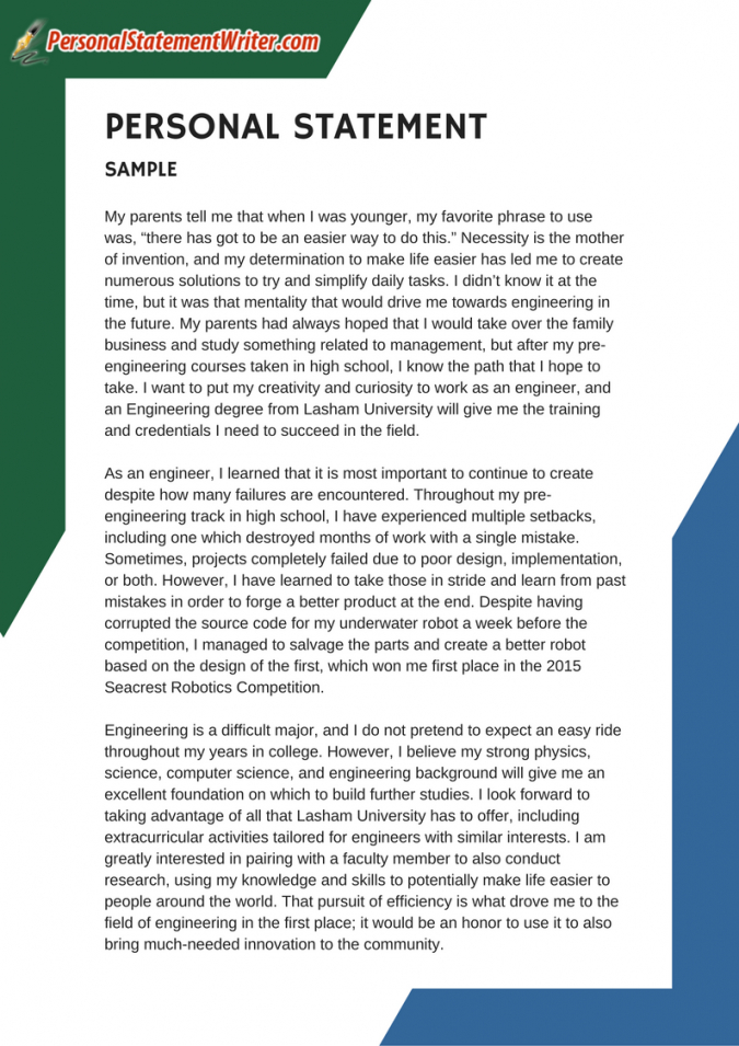 professional and best 500 word personal statement samples online personal statement template for job application example