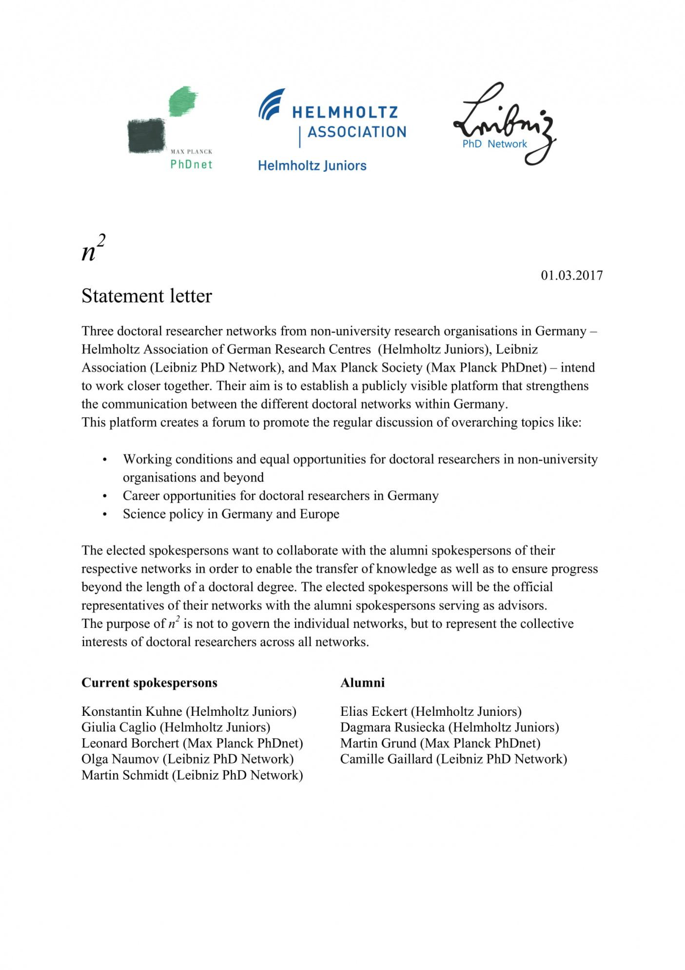 sample 12 official statement letter format examples  pdf doc formal statement template example