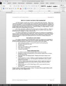 Best 30 Day Return Policy Template Pdf