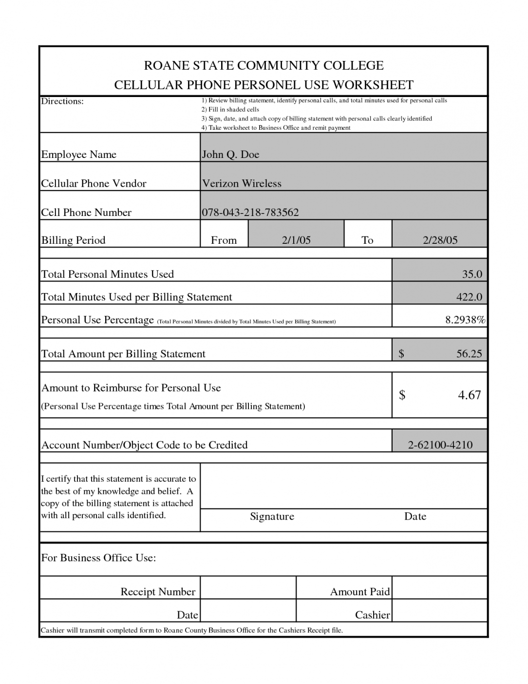 Best Credit Card Statement Template Word