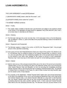 Best Revenue Sharing Contract Template Word Example