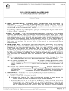 Best Seller Financing Contract Template  Example