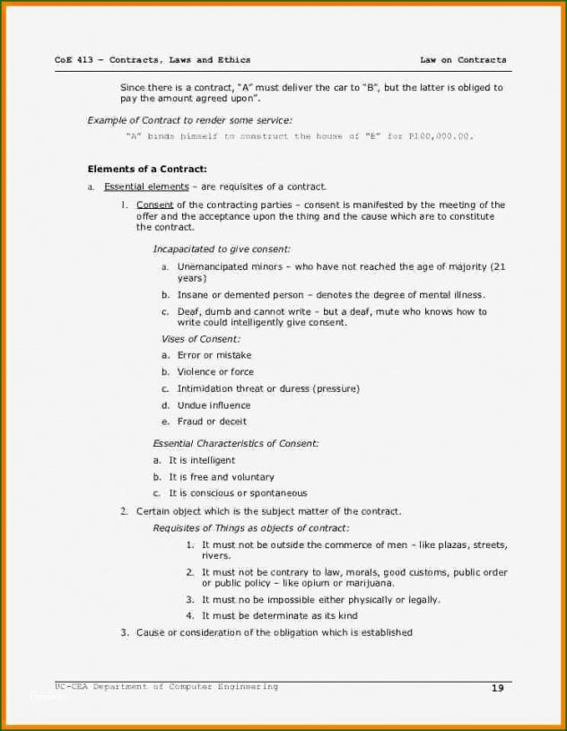 Best Take Or Pay Contract Template Word Example