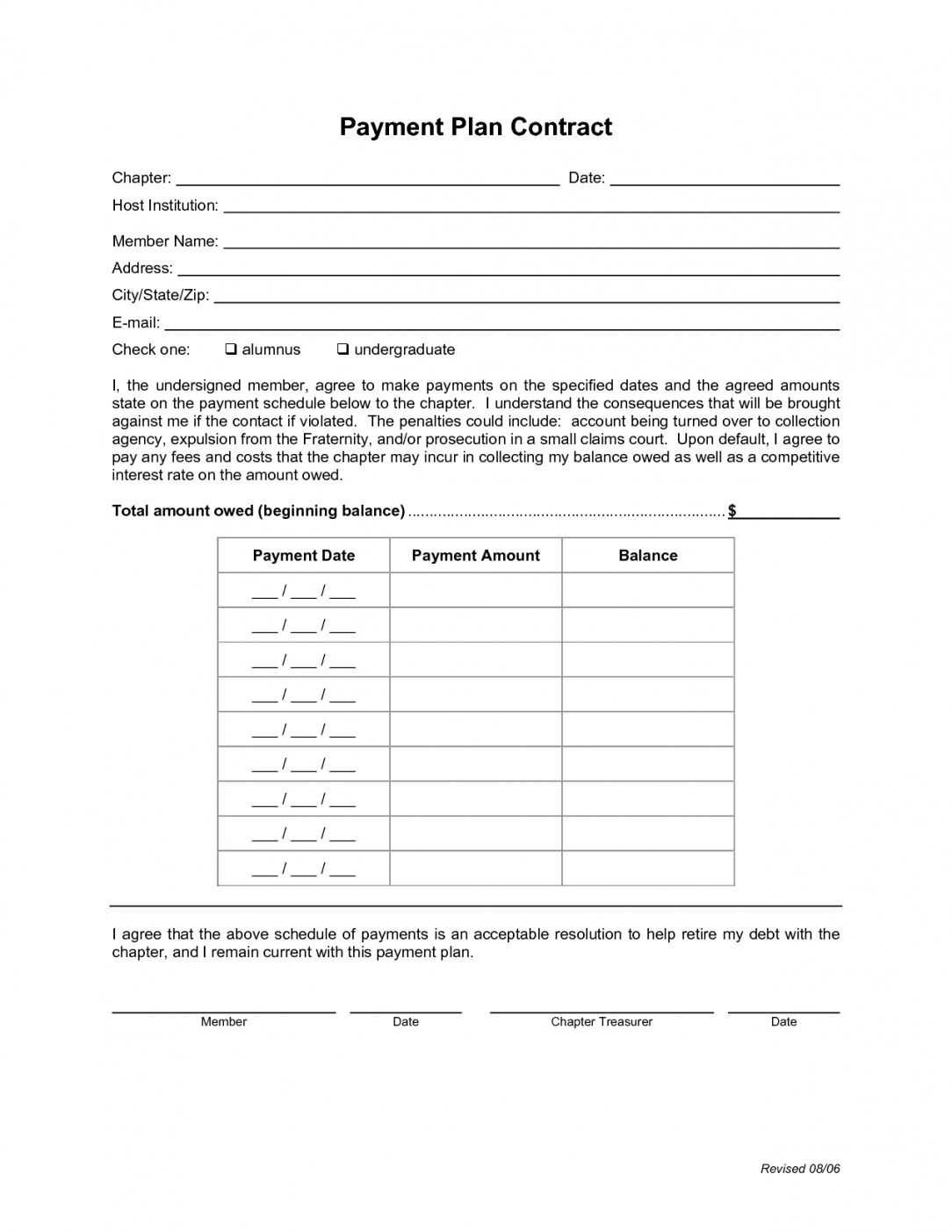 Costum Take Or Pay Contract Template Word