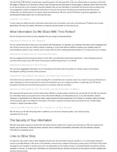 Editable App Privacy Policy Template Doc
