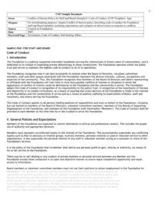 Editable Ethics Policy Template Word