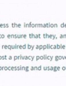 Editable Mobile App Privacy Policy Template Pdf Sample